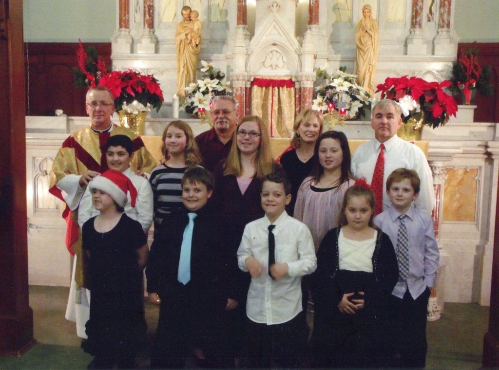 Holy Redeemer Children's Choir 2013